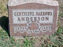 Genevieve <i>Barrows</i> Anderson