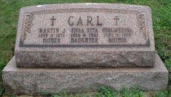 Edna A <i>McKenna</i> Carl
