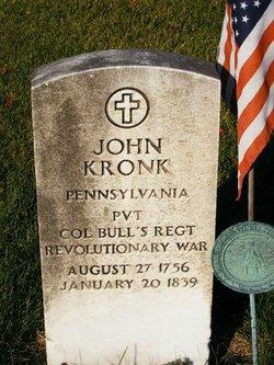 Pvt John Kronk