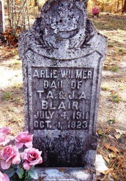 Arlie Wilmer Blair