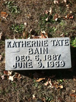 Katherine <i>Tate</i> Bain