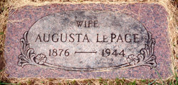 Augusta Gustie <i>Gee</i> LePage