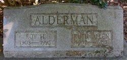 Ruth Irene <i>Allen</i> Alderman