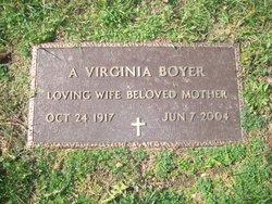 A. Virginia <i>Boland</i> Boyer