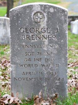 Sgt George J. Brenner