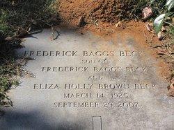 Frederick Baggs Beck, Jr