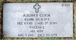 Adm Ralph Edward Cook