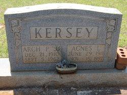Agnes Pauline <i>Loftin</i> Kersey