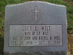 Lucy E. <i>Noel</i> Wilt