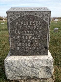 M. F. <i>Dickson</i> Acheson