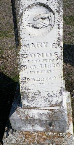 Mary F. <i>Adams</i> Bonds