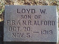 Lloyd W Alford