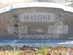 George W Malone