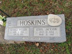 Ethel <i>Jackson</i> Hoskins