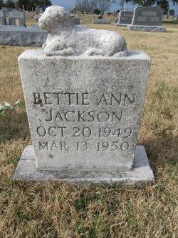 Bettie Ann Jackson