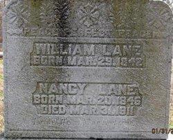 Mary Nancy <i>Callender</i> Lane