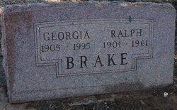 Georgia Lee <i>Winn</i> Brake