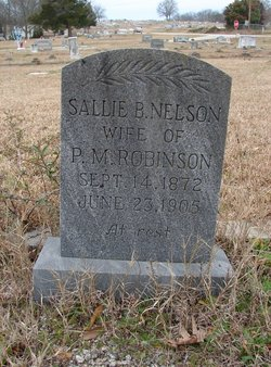 Sallie B. <i>Nelson</i> Robinson