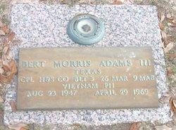 Corp Bert Morris Adams, III
