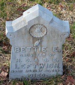 Bettie E. Leftwich
