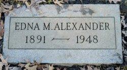 Edna May <i>Rostorfer</i> Alexander