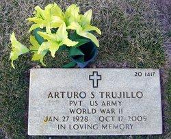 Pvt Arturo S Trujillo