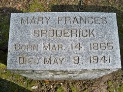 Mary Francis Broderick