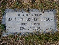 Madelon <i>Griner</i> Beeson