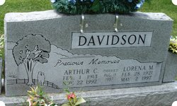 Arthur Clarance Davidson