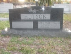 Sara Sweet <i>Evans</i> Hutson