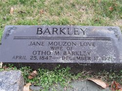 Jane Mouzon <i>Love</i> Barkley