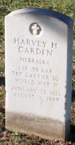 Lieut Harvey H Carden