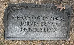 Rebecca L. <i>Corson</i> Adkins
