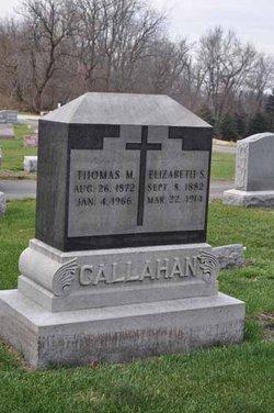 Thomas Martin Callahan, Sr