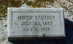 Arminta Jane Mintie <i>Weathers</i> Cauthen