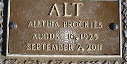 Alethia <i>Brockles</i> Alt