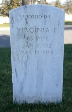 Virginia F Cone