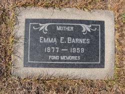 Emma Etta <i>Bennett</i> Barnes