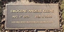 Emogene Marie <i>Anders</i> Keene