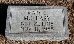 Mary C McLeary
