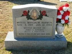 Myrtis Loraine <i>Mangrum</i> Harmon