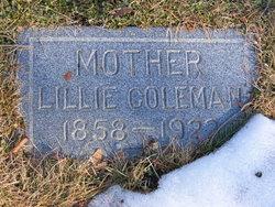 Lillie Eleanor <i>Burke</i> Coleman
