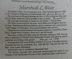 Marshall L. Blair