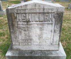 America Ellen Wasson <i>Whitlock</i> McMillen
