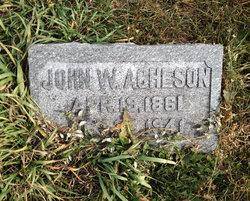 John W. Acheson