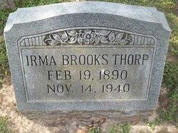 Irma Louise <i>Brooks</i> Thorp