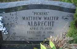 Matthew Walter Pickens Albrecht