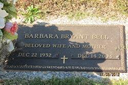Barbara <i>Bryant</i> Bell