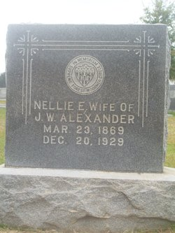 Nellie Estelle <i>Overton</i> Alexander