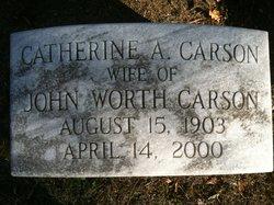 Catherine <i>Armstrong</i> Carson